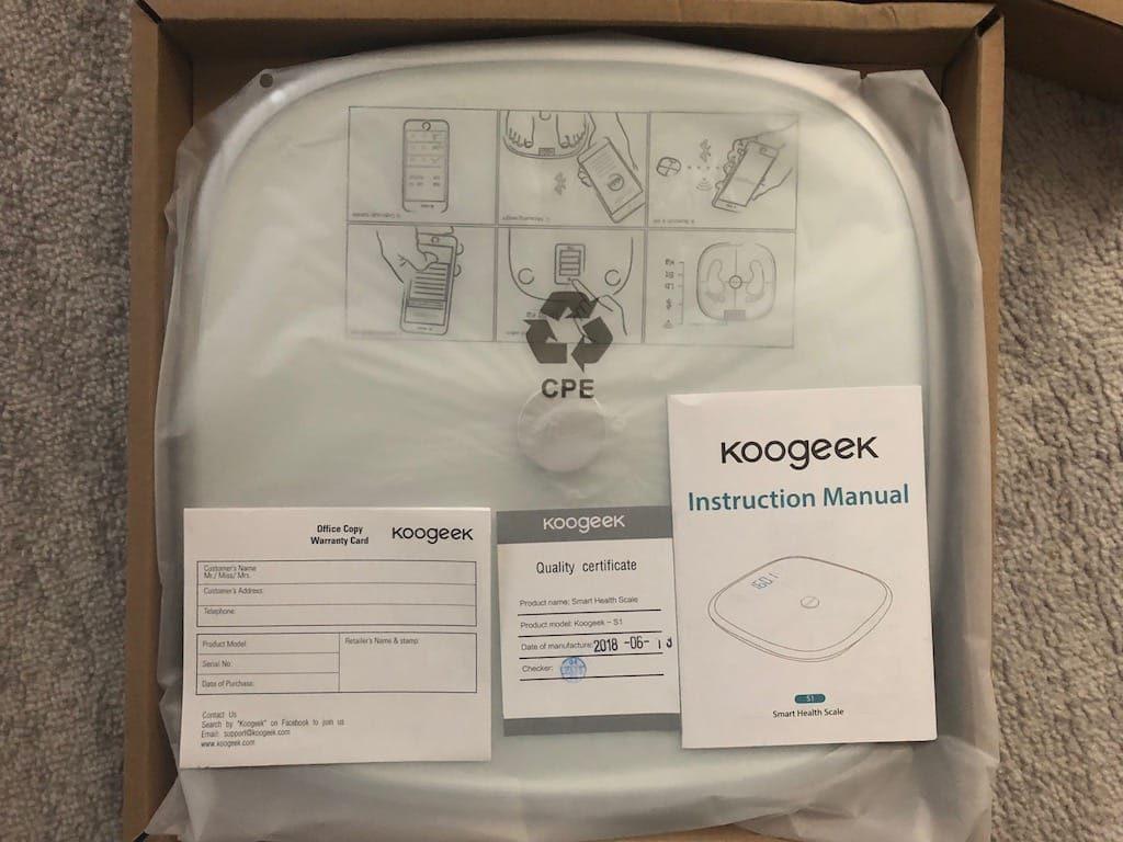 Koogeek S1 pese personne connectee wifi bluetooth