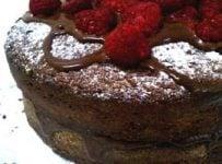 gateau chocolat framboise recette simple