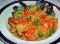 riz aux fruits de mer espagnol rapide et simple