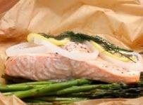 saumon en papillote recette