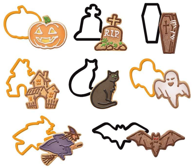 Biscuits Halloween emporte pieces