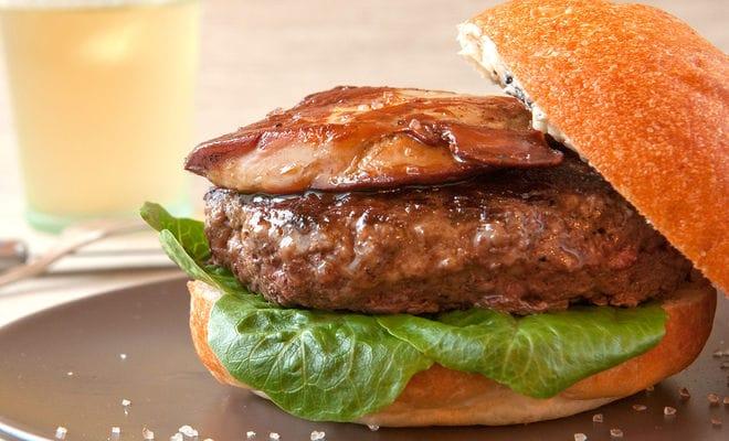burger de canard et foie gras