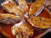 huitres gratinees au four recette