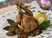 cailles farcies au foie gras recette facile