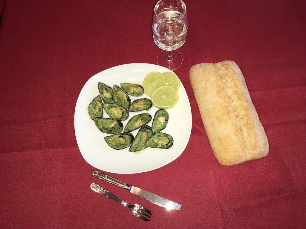 moules farcies au beurre persillé recette