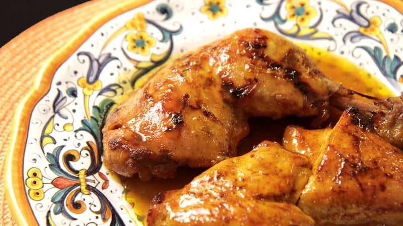 poulet miel et moutarde recette facile
