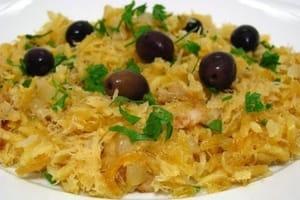 Bacalhau à brás recette portugaise