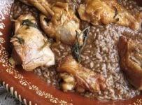 Arroz de Cabidela riz au sang de poulet