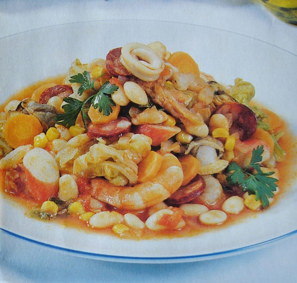 feijoada aux fruits de mer recette