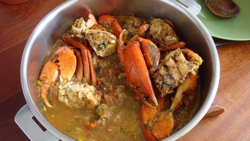 matete de crabe recette facile