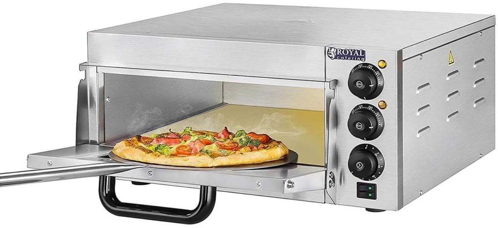 Pizza steak haché four a pizza electrique