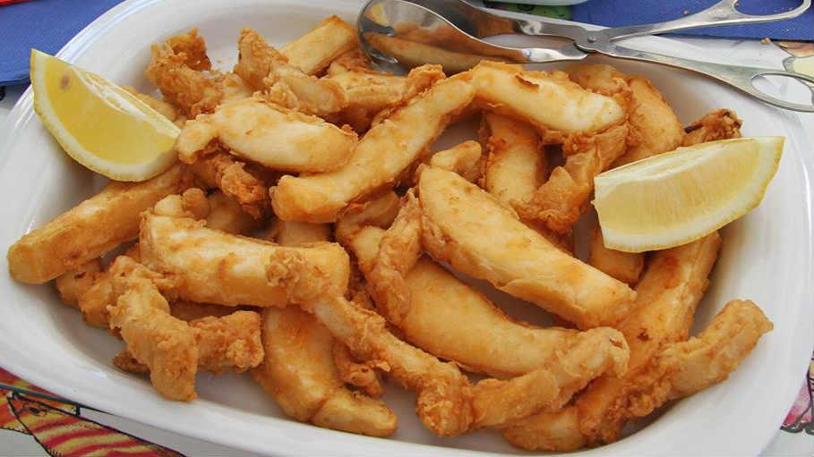 fruits de mer et legumes frits recette facile