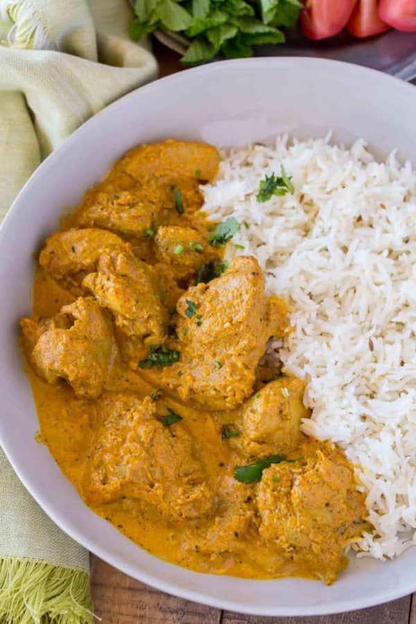 poulet Shahi Korma recette facile