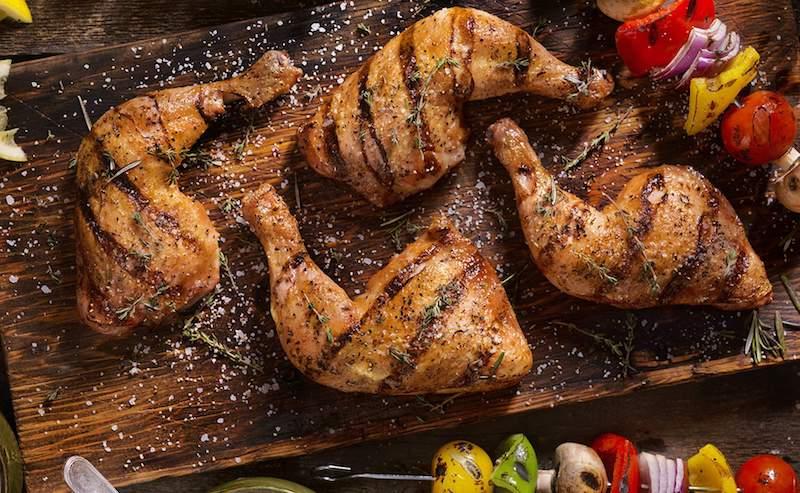 poulet boucané antillais