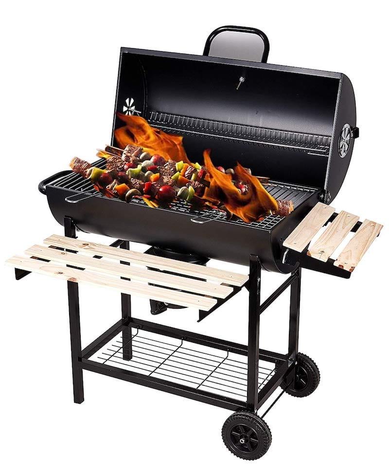 poulet boucané au barbecue