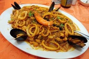 risotto aux fruits de mer recette facile