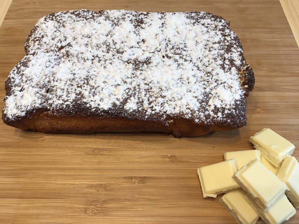 Brownies au chocolat blanc recette