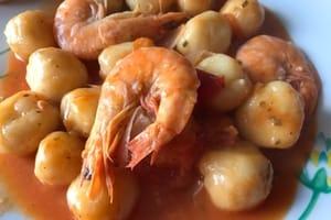 dombrés aux crevettes guadeloupe