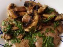 rognons de veau aux champignons recette