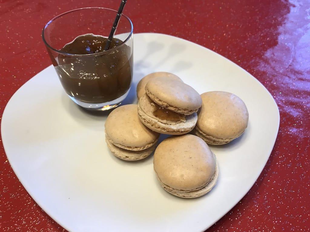 Macarons au foie gras et figues recette