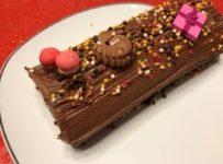buche au chocolat facile