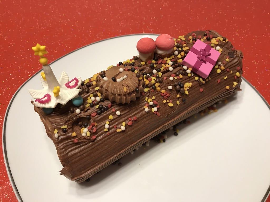 bûche au chocolat noel