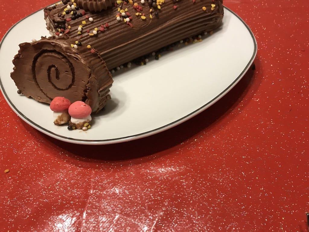 buche au chocolat de noel