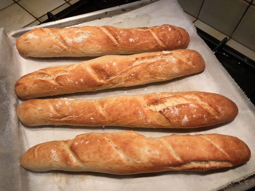 recette baguettes tradition maison